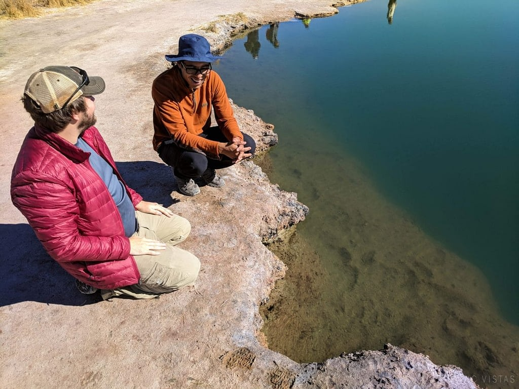 Private tour of the Ojos del Salar with Sorbac in the Atacama.