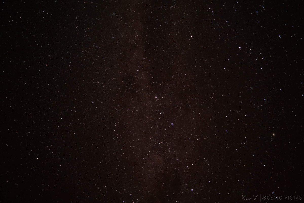 Milky way in the Atacama Desert.