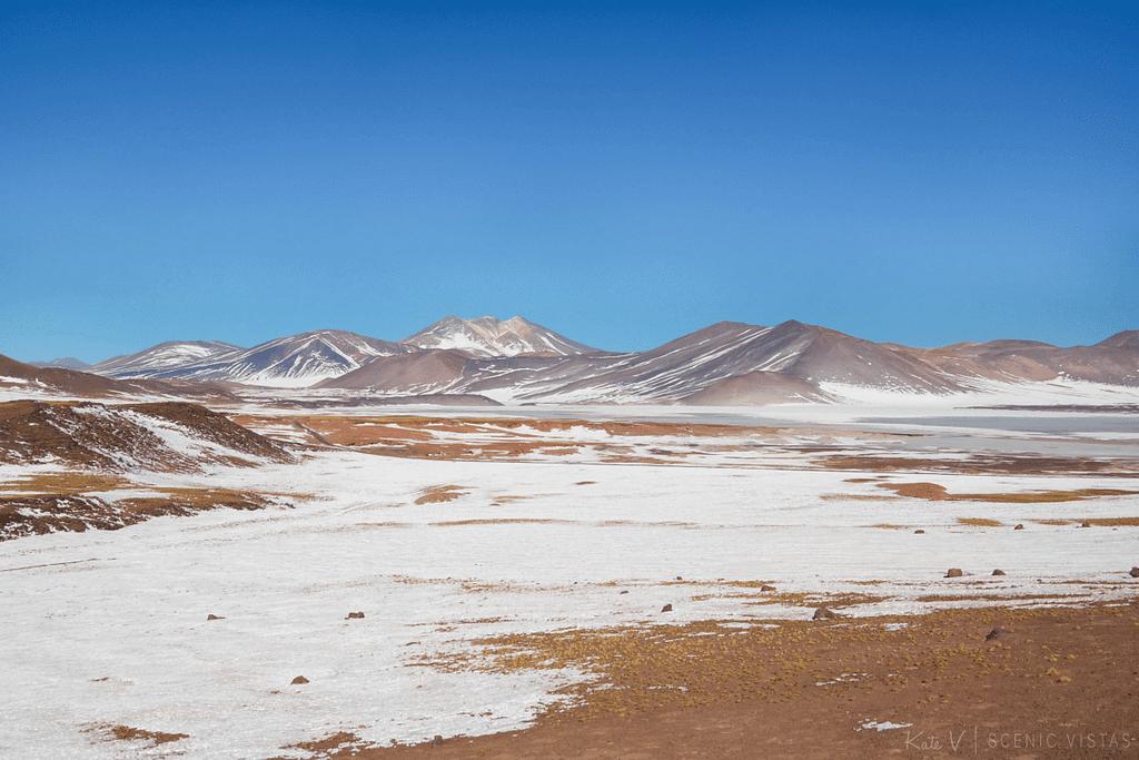 Colorful Piedras Rojas in the Lagunas Altiplanicas.