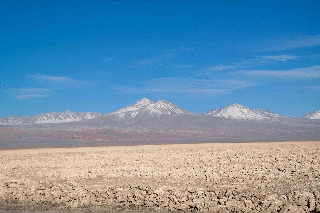 Atacama Salt Flats/Salar de Atacama.