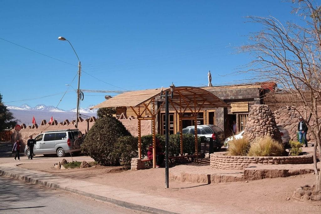 Hotel Manada del Desierto in downtown San Pedro de Atacama.