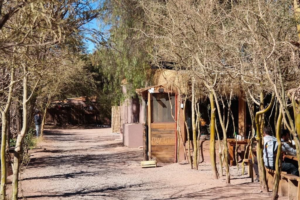 La Franchuteria, a bakery in San Pedro de Atacama.